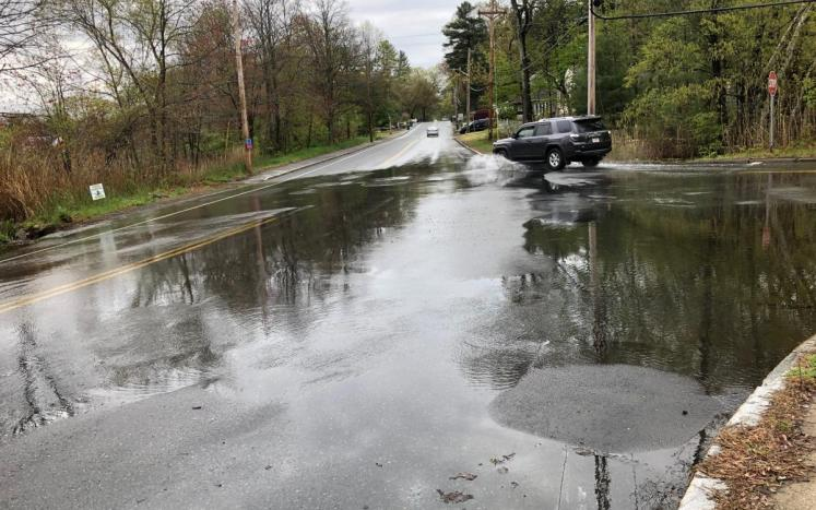 County Rd water